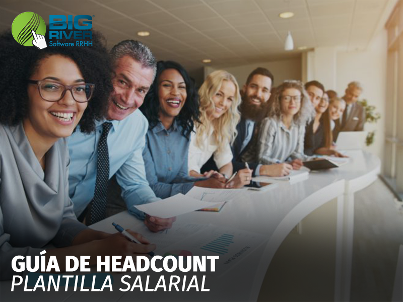 guía de headcount plantilla salarial