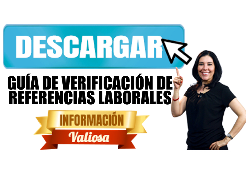 Descarga guía de Verificación de Referencias Laborales