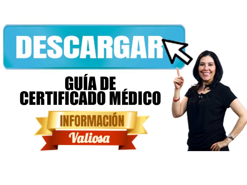 Guía de Certificado Médico